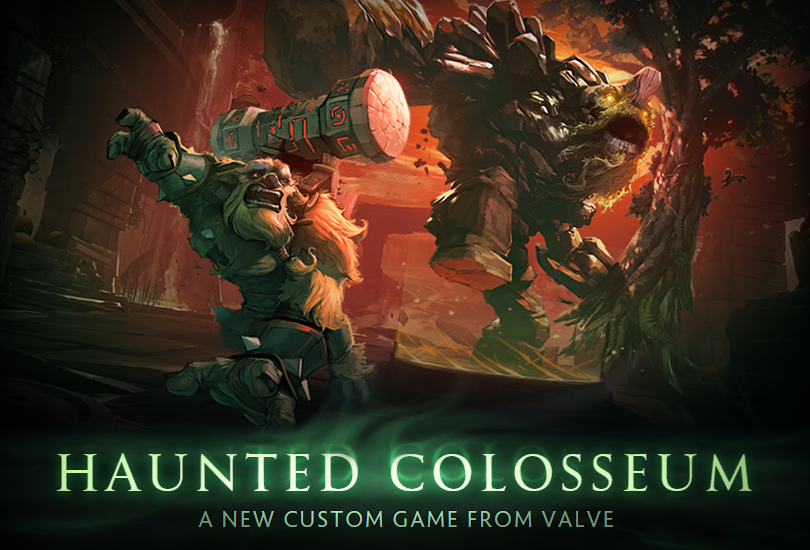 Haunted Colosseum Dota 2