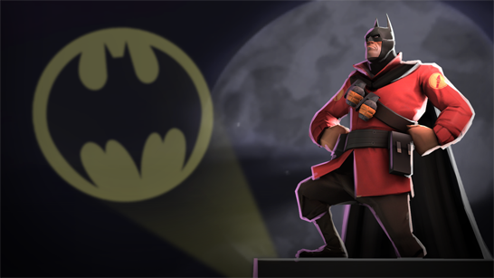 Arkham Knight TF2 Batman