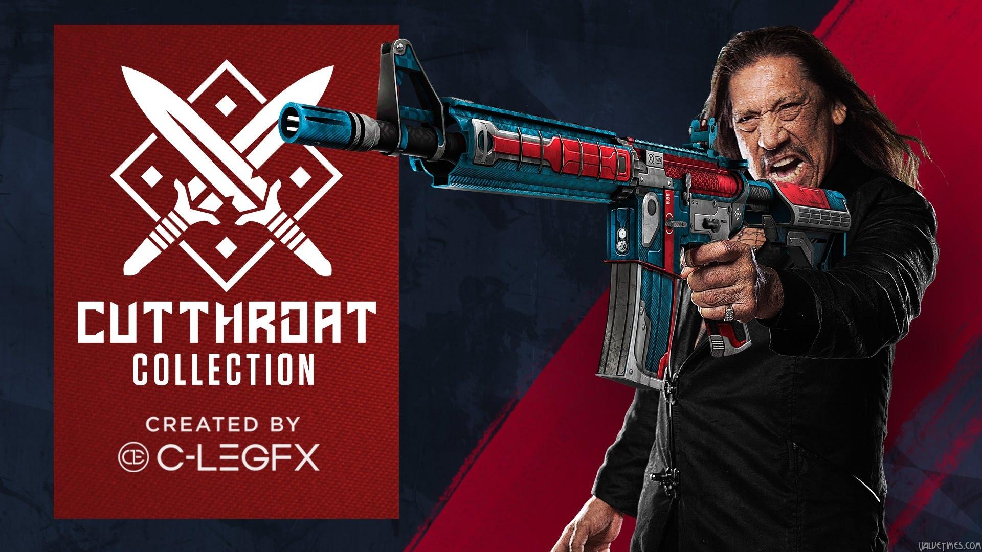 Мастерская CS:GO — Актёр Дэнни Трехо рекламирует скин оружия.