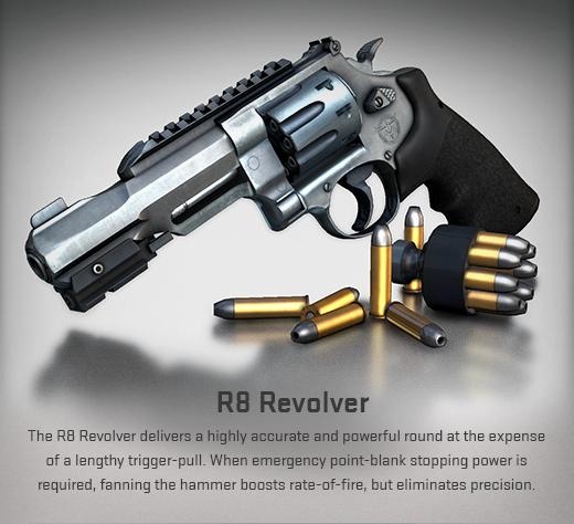 CS:GO Револьвер R8
