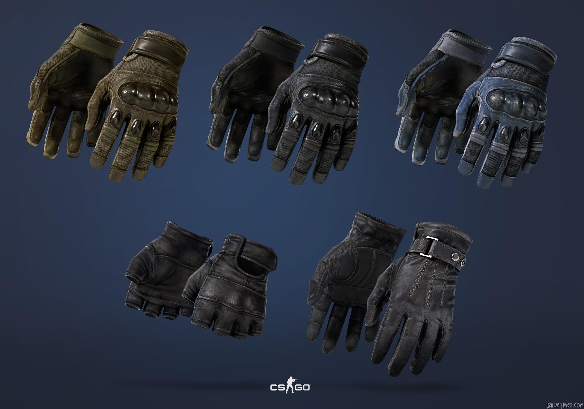 Новые модели перчаток CS:GO