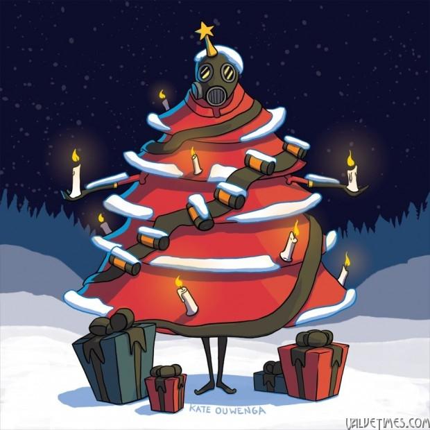 Лучшие арты декабря 2015. Team Fortress 2.