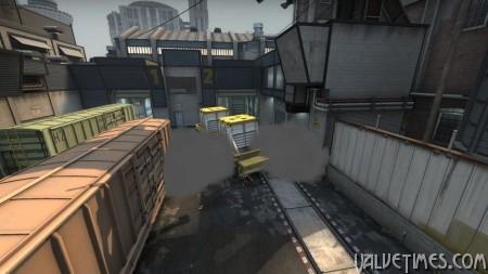 CS:GO. Приемы защиты на карте Train.