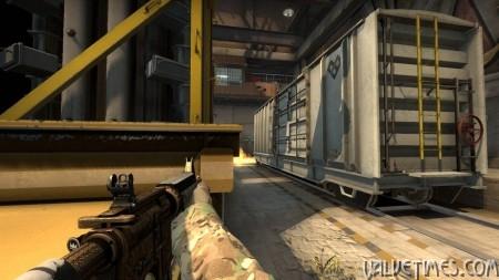 CS:GO Приемы защиты на карте Train