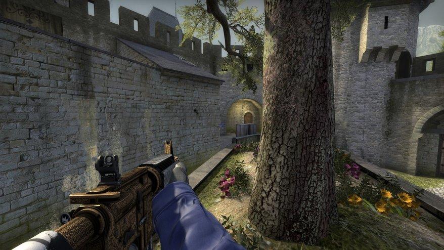 CS:GO. Приемы защиты на карте Cobblestone