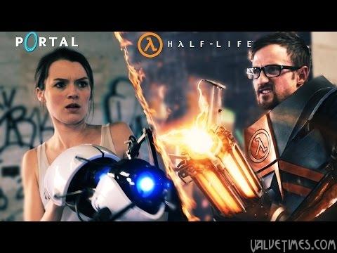 Когда встречаются Portal и Half-Life…
