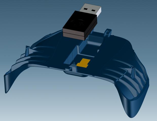 CAD модель Steam Controller