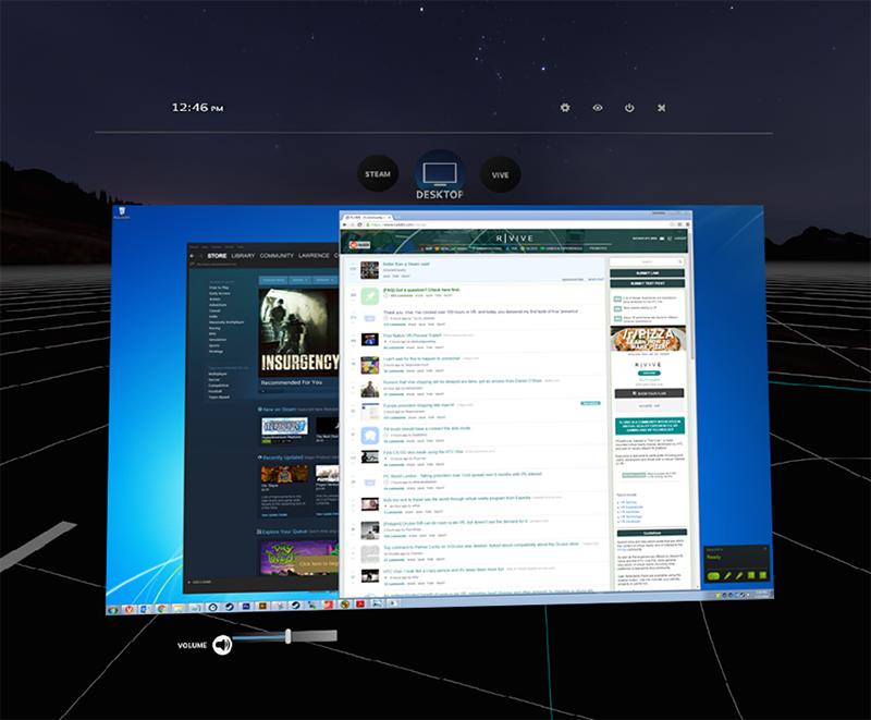 SteamVR Desktop