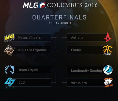 MLG Columbus: Четвертьфиналы