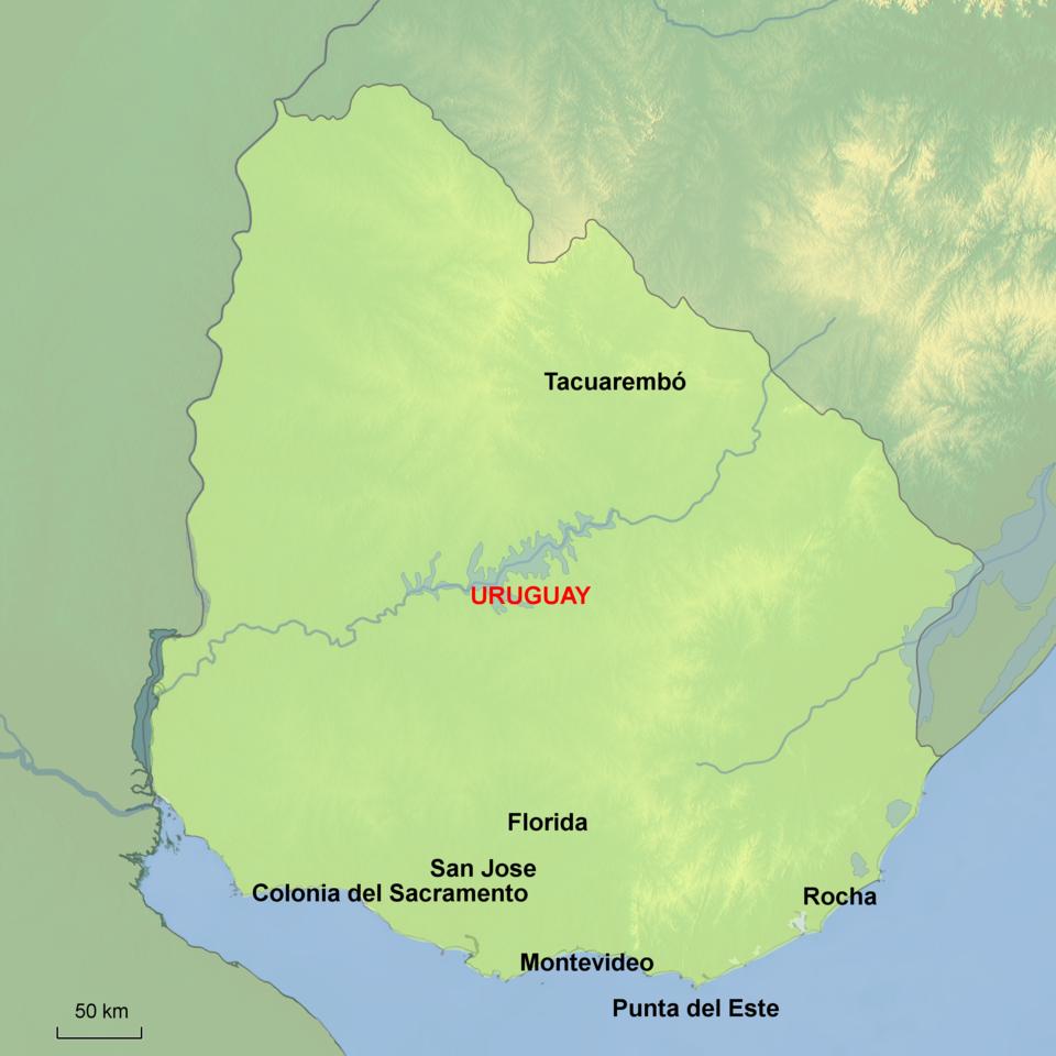 uruguay reisplanner