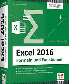 Excel 2016 - Formeln und Funktionen