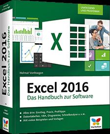Excel 2016 - Das Handbuch zur Software