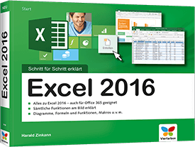 Excel 2016 - Schritt für Schritt erklärt