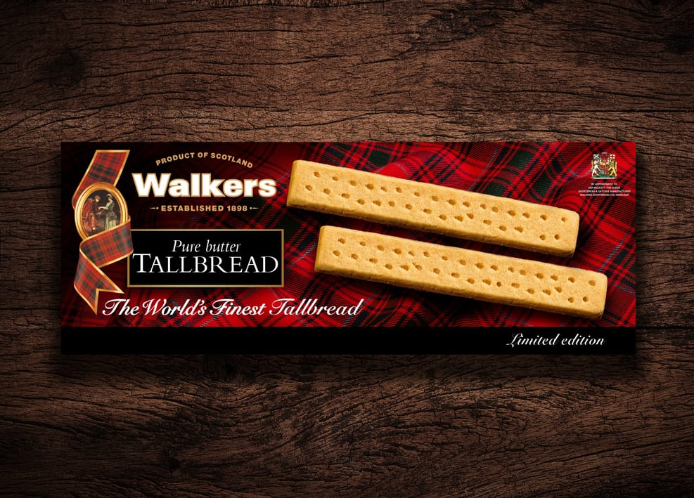Walkers Shortbread Launches Limited Edition Tallbread