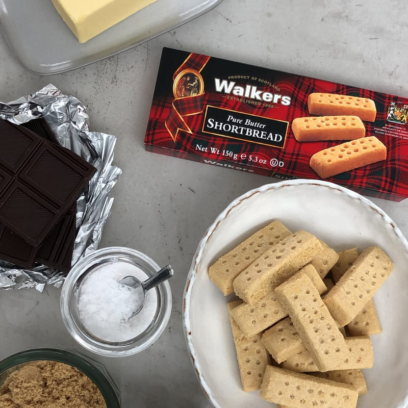 Walker's Millionaire Shortbread Recipe Contents