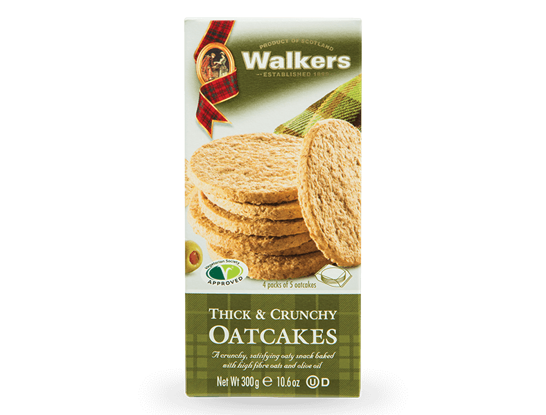 Thick & Crunchy Oatcakes