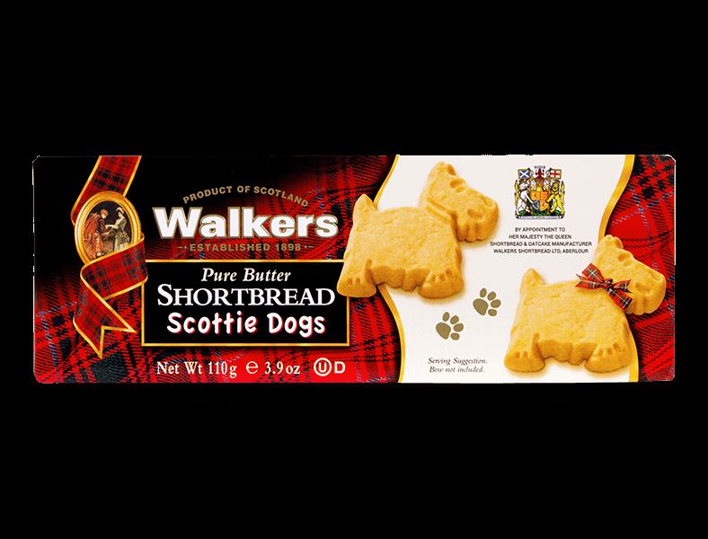 Box Scottie Dog Shortbreads