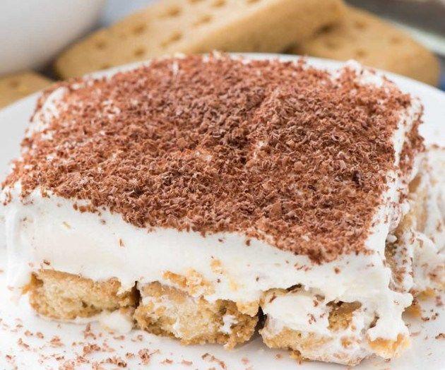 Shortbread Tiramisu Dessert