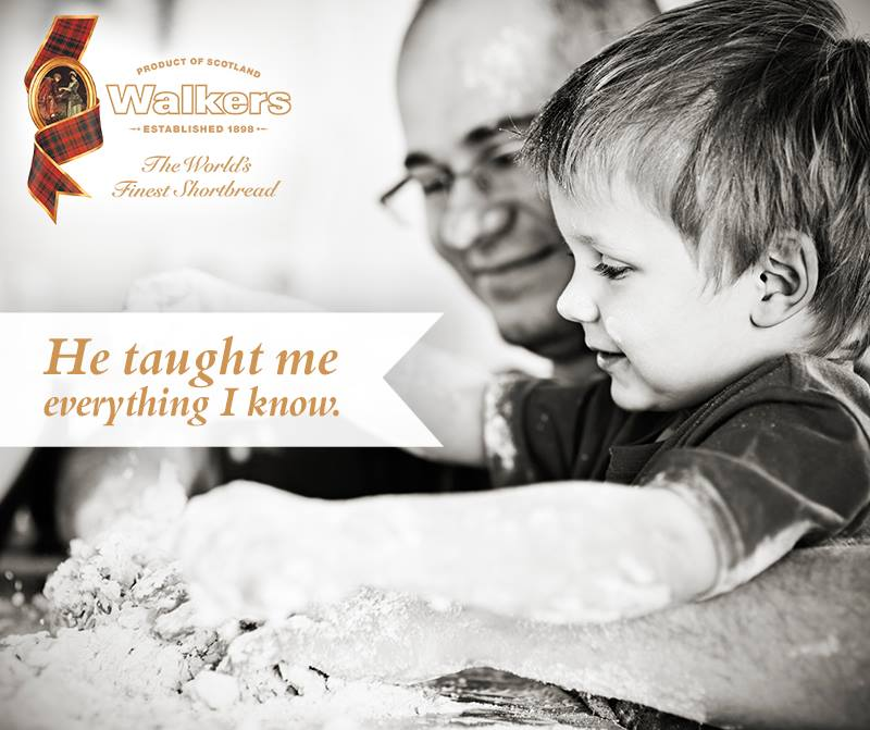 Celebrate Father's Day with Walkers Shortbread & Dad