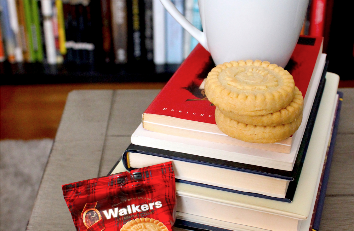 5 Books to Pair With Tea and Shortbread