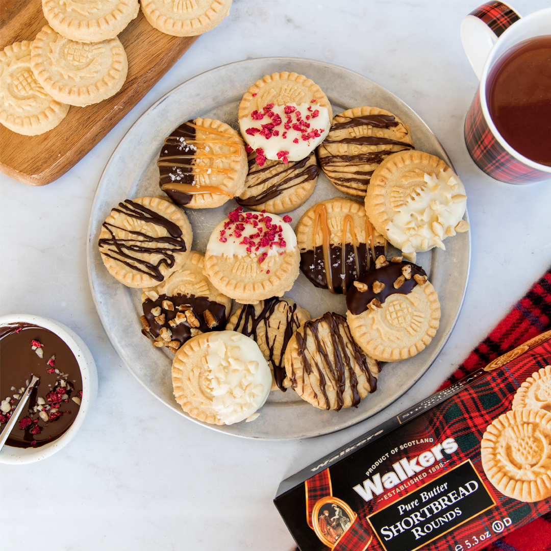 Shortbread 6 Ways for Mom