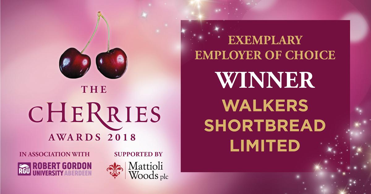 The Cherries Awards 2018 - Exemplary Employer of Choice Winner