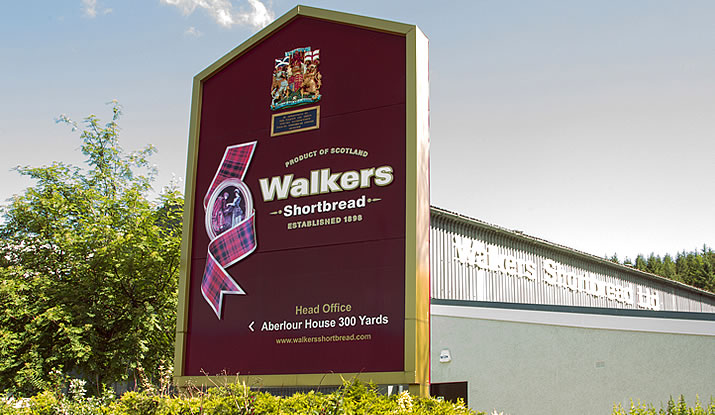 Walkers Shortbread Factory - present day