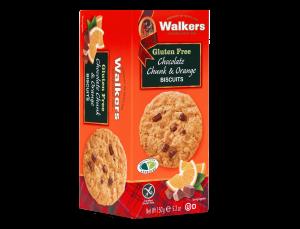 Gluten-Free chocolate chunk and orange cookies
