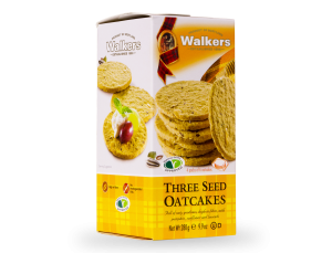 Three Seed and Oat Crackers Box