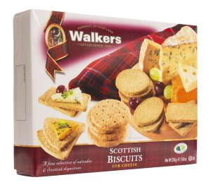 Walkers Shortbread Scottish Biscuits for Cheese Crackers
