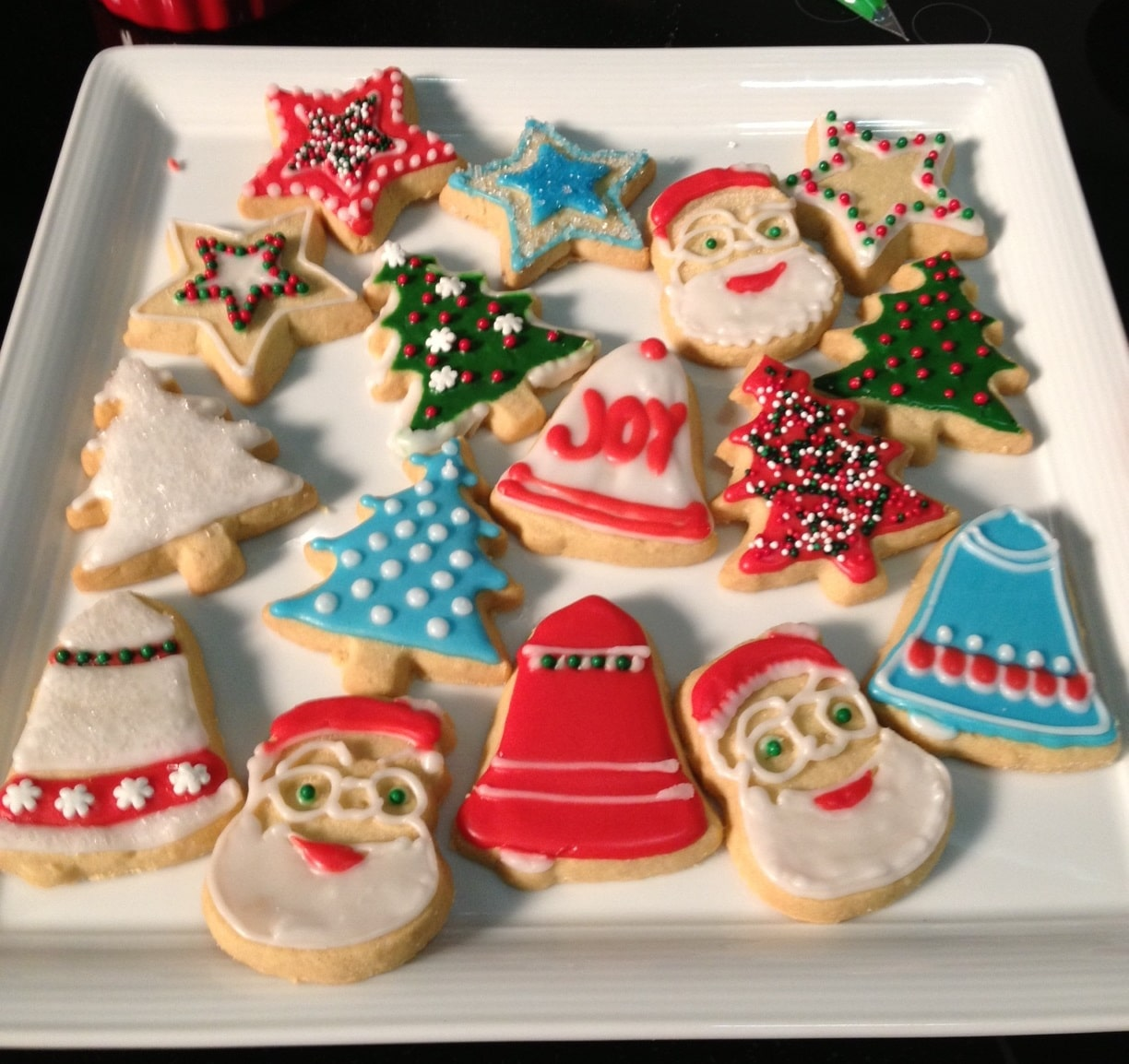Decorative Cookie Icing