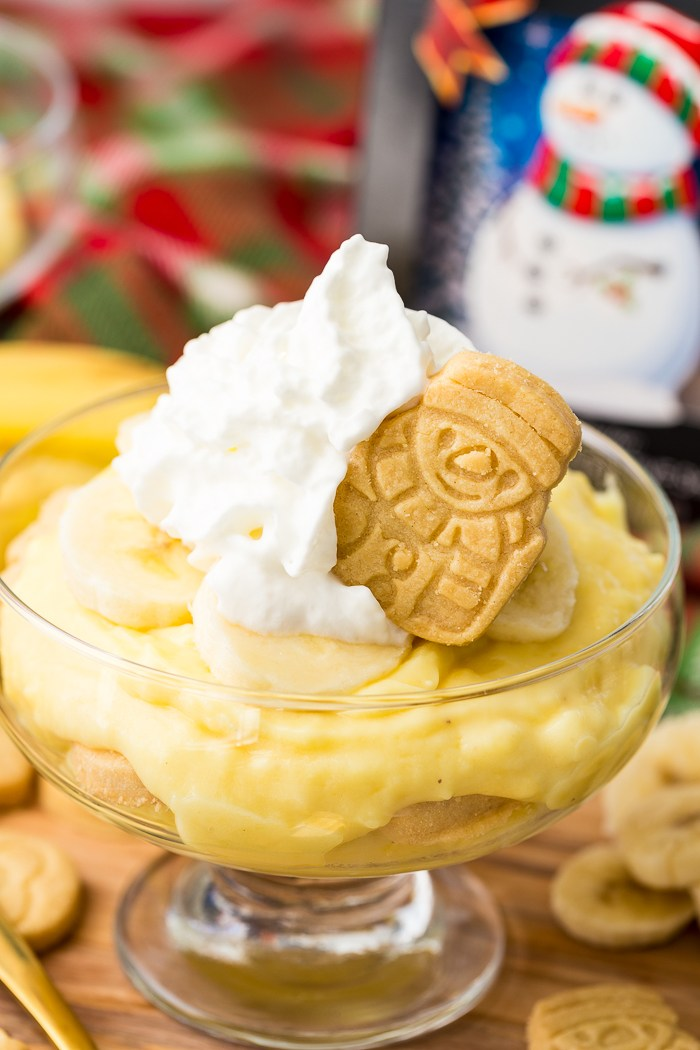 Holiday Banana Pudding
