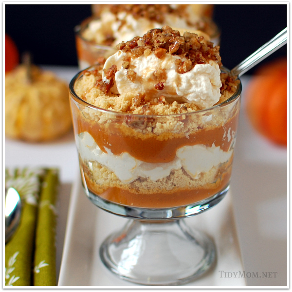 Whisky Pumpkin Shortbread Parfait
