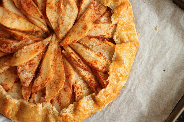 Pear and Ginger Crostata