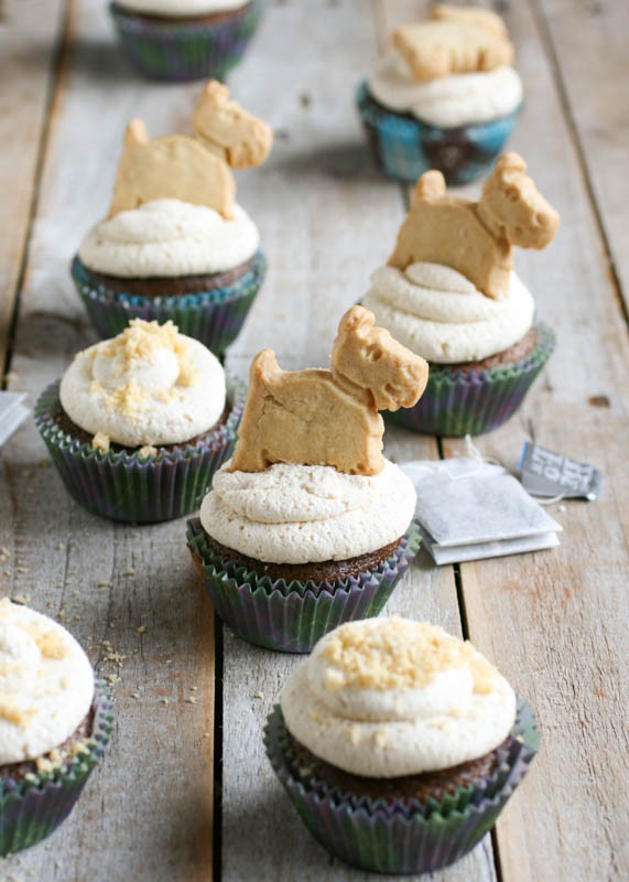 Scottish Teatime Cupcakes
