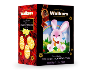 Walkers Bunny Mini Lemon Shortbread Eggs Box