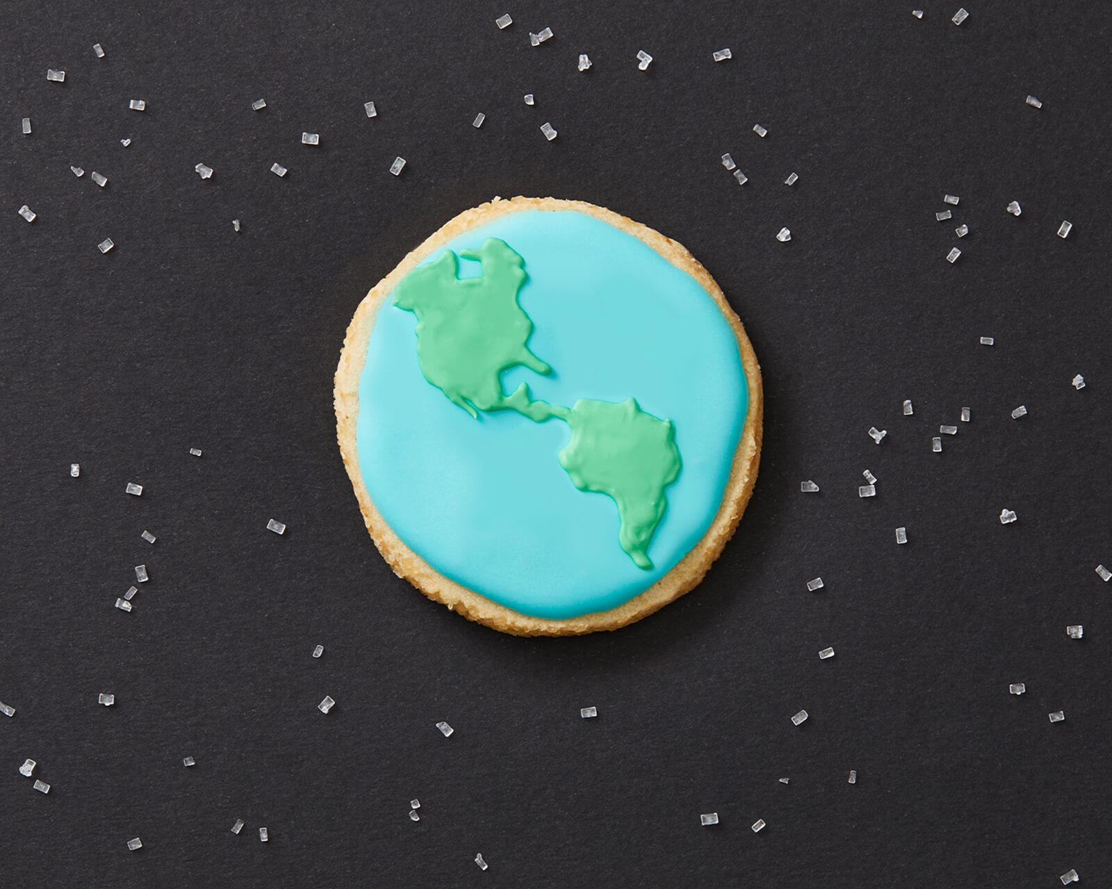Walkers Earth Day Cookies