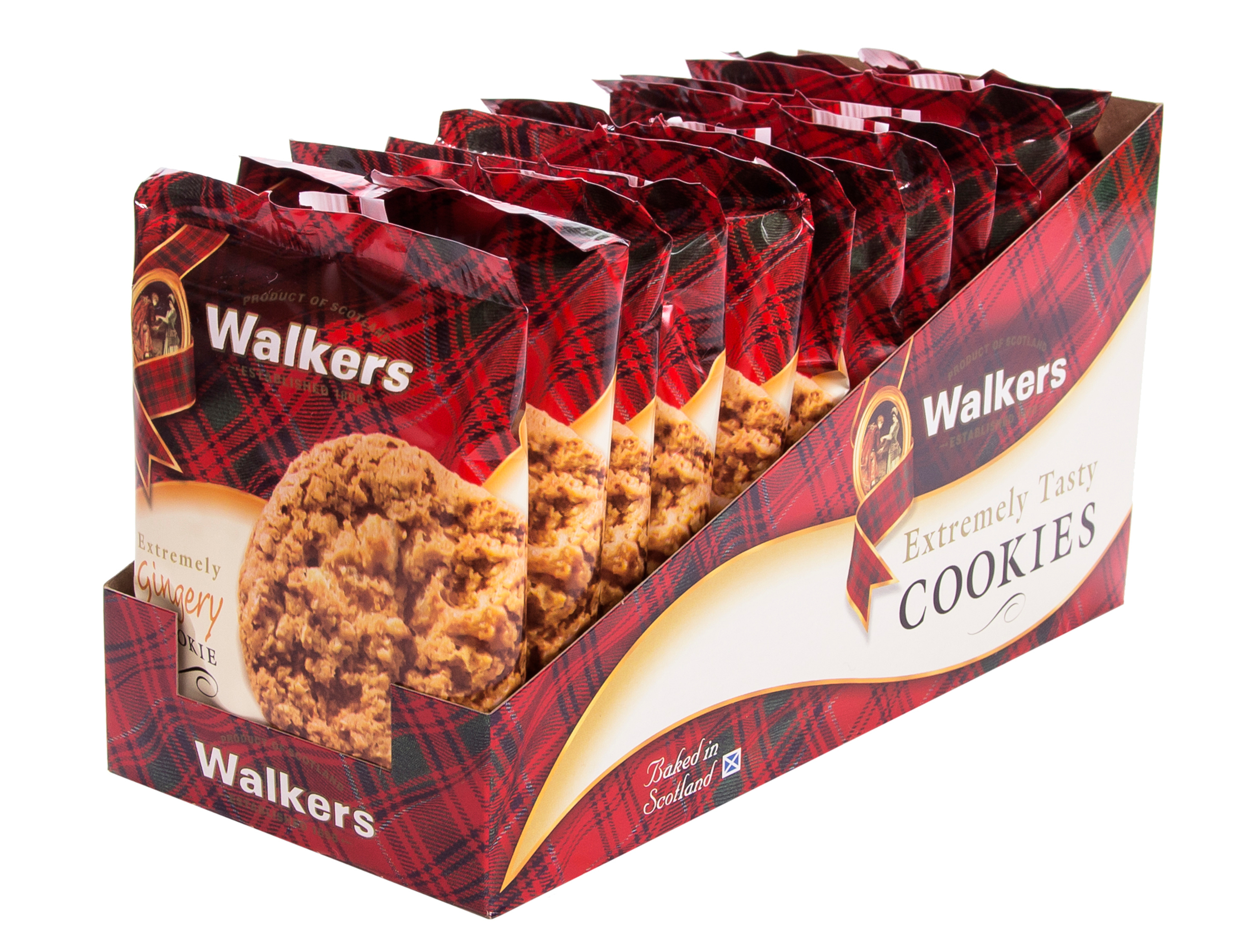 Extremely Gingery Walkers Shortbread Cookie Box