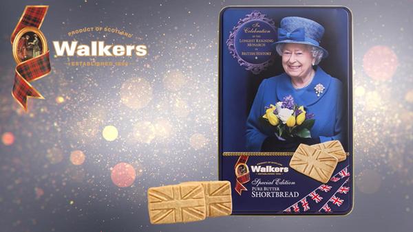 Walkers Shortbread Longest Reigning Monarch