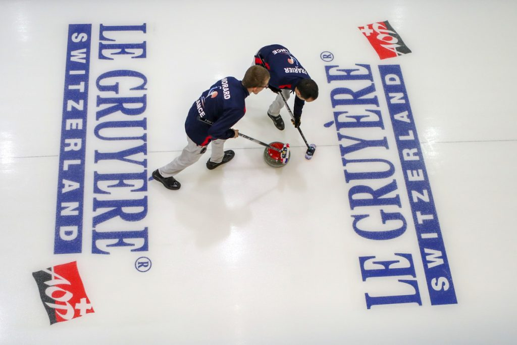 Le Gruyère AOP Curling Championships 2018,  Tallinn, Estonia