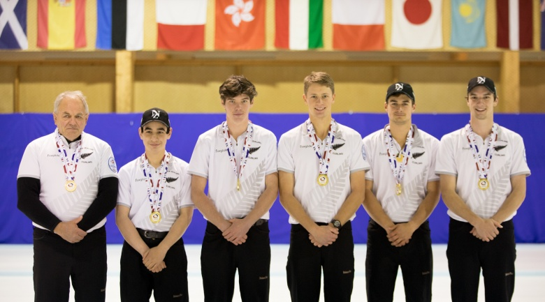 New Zealand men qualify for first ever World Junior Curling