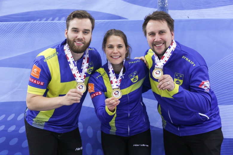 Sweden win World Mixed Doubles Curling Championship 2019