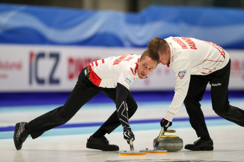 Figure Skating At The 2020 Olympic Winter Games.Denmark Men Are Final Curling Team Into 2018 Olympic Winter