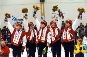 Sandra Shmirler Team - 1998 Nagano