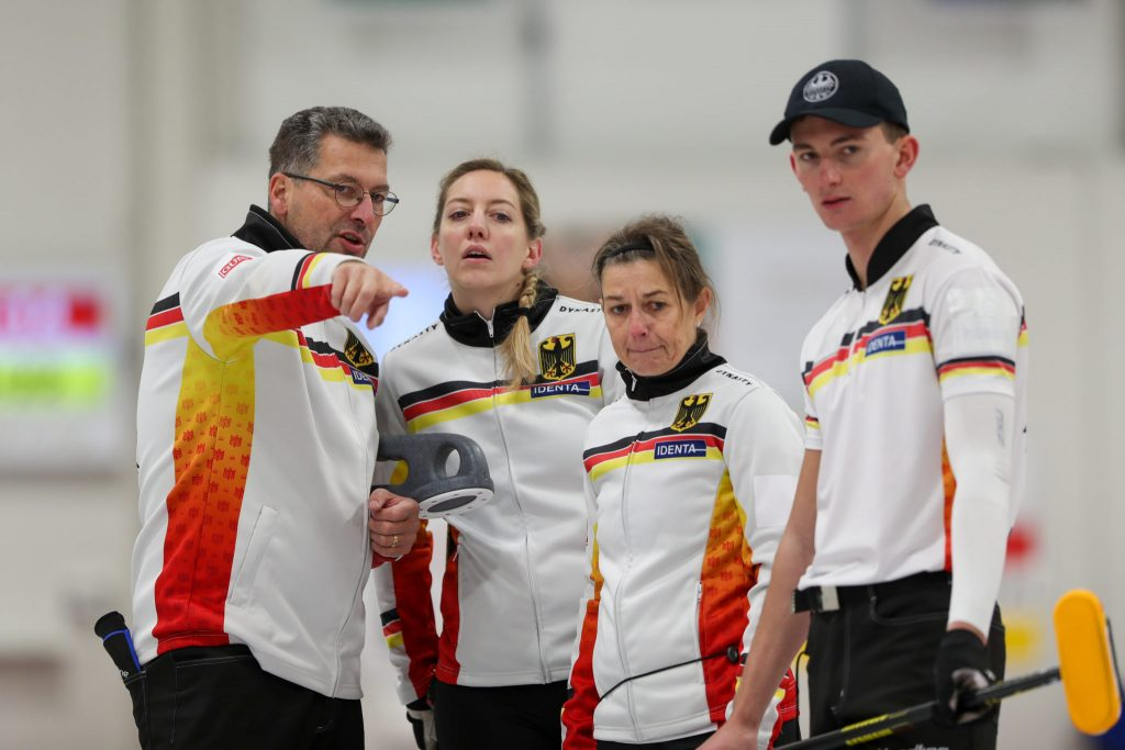 Andy Kapp, Benny Kapp, ger, Petra Tschetsch, Pia-Lisa Schoell,  © WCF / Richard Gray