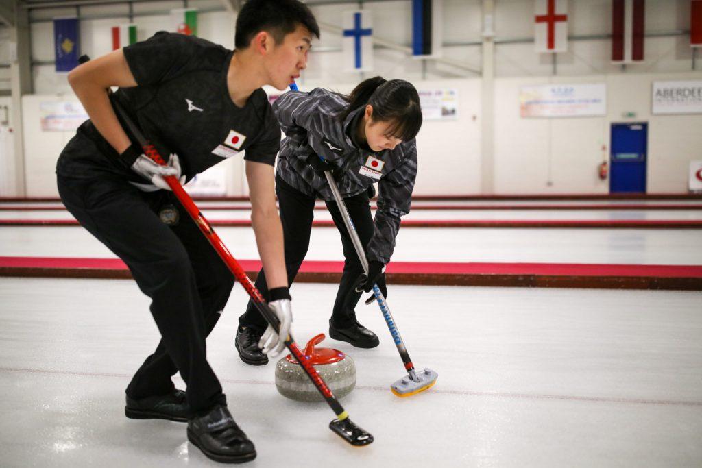 Asei Nakahara, Mina Kobayashi, jpn © WCF / Richard Gray