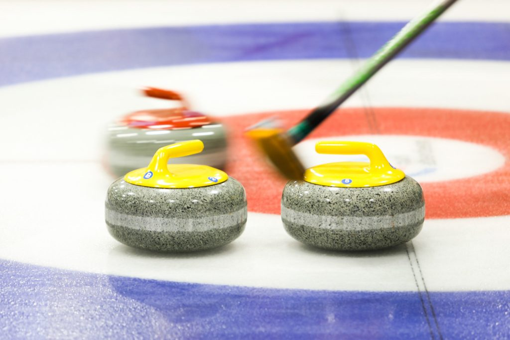 Curling Stones © WCF / Stephen Fisher