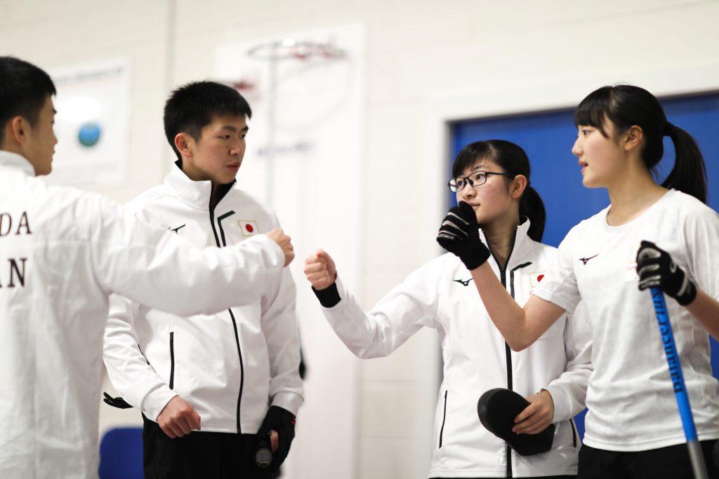 Asei Nakahara, JPN, Mina Kobayashi, Momoha Tabata, Takumi Maeda © WCF / Stephen Fisher