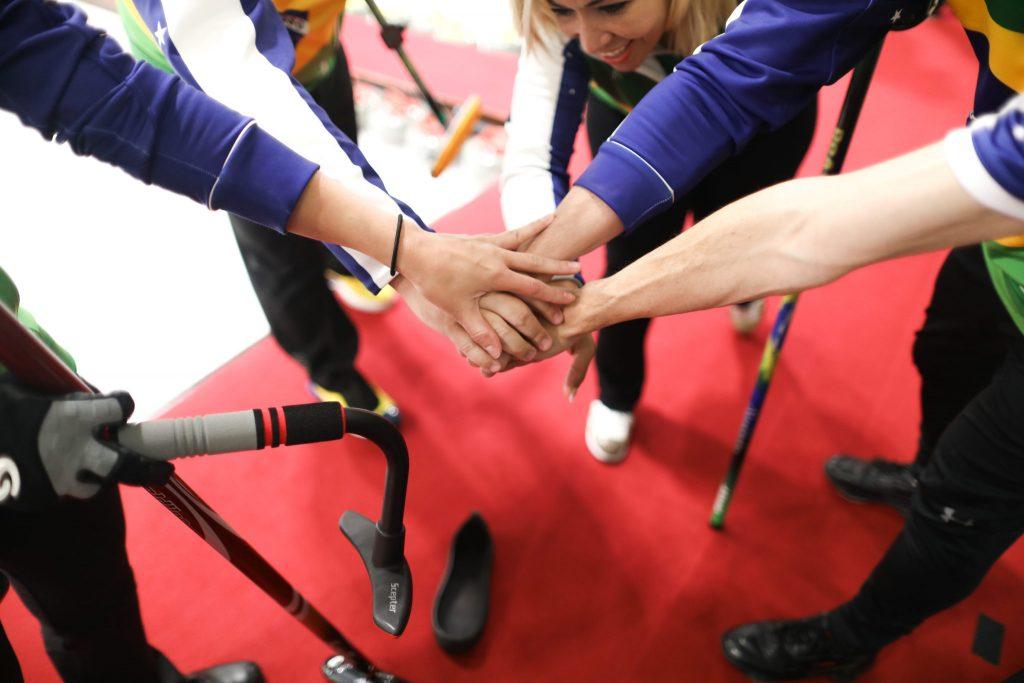 Alessandra Barros, BRA, Marcio Rodrigues, Mitsuo Sergio Vilela, Samanta Yang © WCF / Stephen Fisher