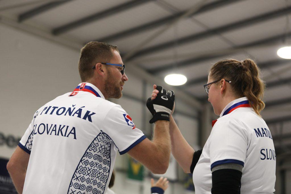Daniela Matulova, SVK, Tomas Pitonka, © WCF / Stephen Fisher